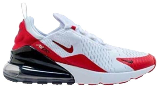 Item - White/Red Air Max 270 Sneakers Size US 9.5 Regular (M, B)