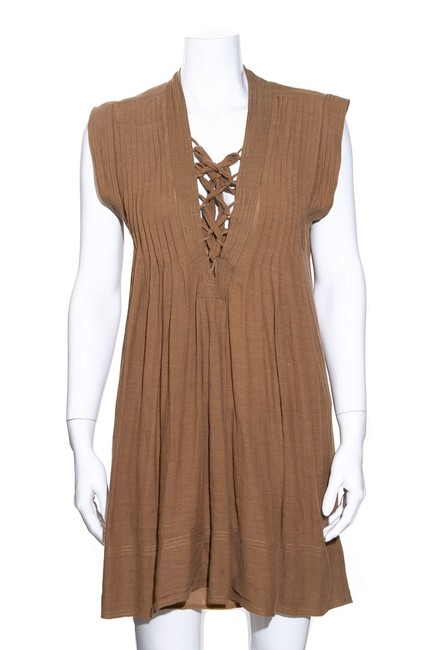 Item - Brown Etoile 34 Short Casual Dress Size 4 (S)