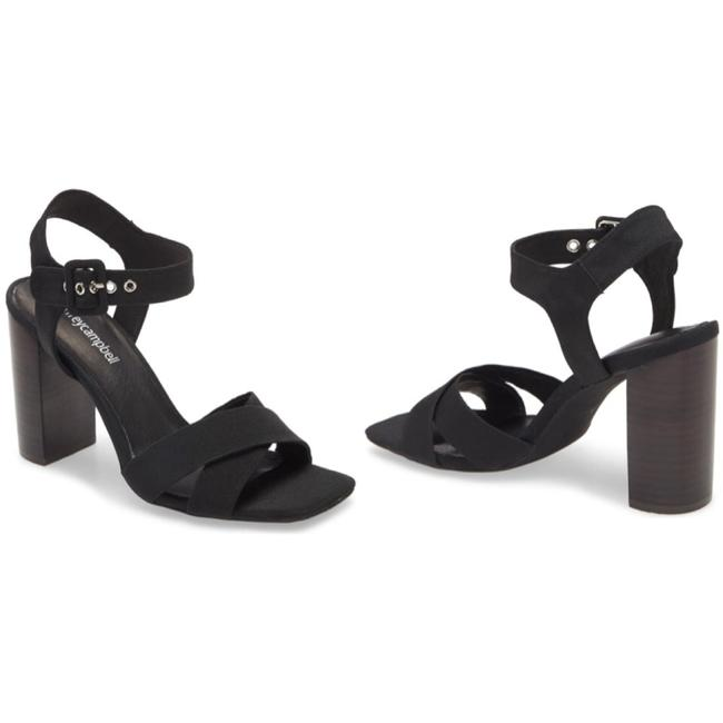 Jeffrey Campbell Black Iliana Ankle Strap Sandals Size US 5.5 Regular (M, B) Jeffrey Campbell Black Iliana Ankle Strap Sandals Size US 5.5 Regular (M, B) Image 1