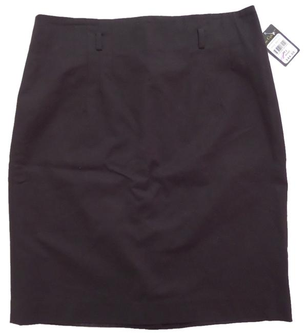 Other Nue Options Nwt Straight Skirt Black