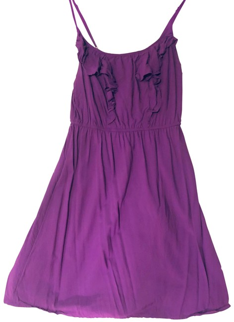 Old Navy Purple Ruffle Sundress Mid-length Short Casual Dress Size 0 (XS) Old Navy Purple Ruffle Sundress Mid-length Short Casual Dress Size 0 (XS) Image 1