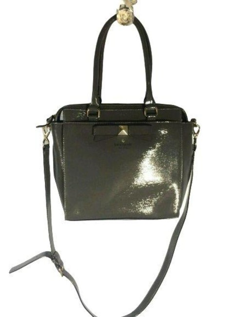 Item - Unknown Grey Patent Leather Tote