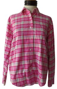 Cruel Girl Western Button Down Shirt Pink