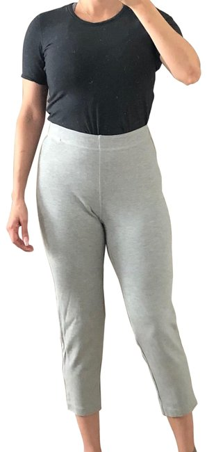 Item - Gray Cropped Stretch Pant Leggings Size 6 (S, 28)