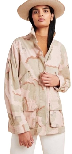 Item - Green Pink Lida Utility Camo Jacket Size 4 (S)