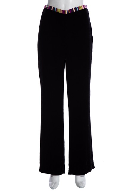 Item - Black Velvet Long Pants Size 2 (XS, 26)