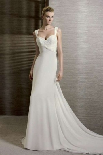 La Sposa Ivory White One Tandem Gown Dress Size 6 (S)