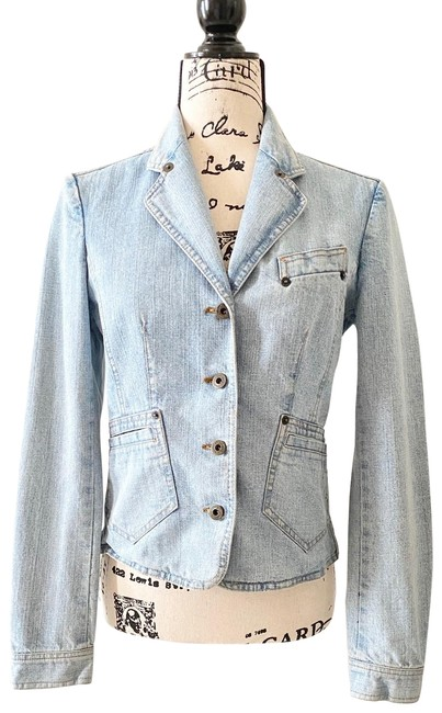 Item - Light Blue Dolce & Gabbana Jacket Size 4 (S)