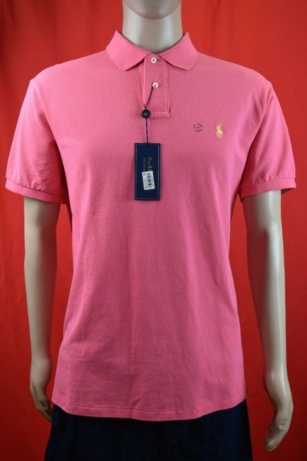 Item - Pink XL Yellow Label Polo Sleeve Buttons Shirt