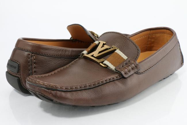 Item - Brown Monte Carlo Moccasins Shoes