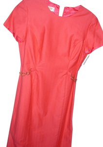 Talbots Tailored Fitted Sheath Bright Dress