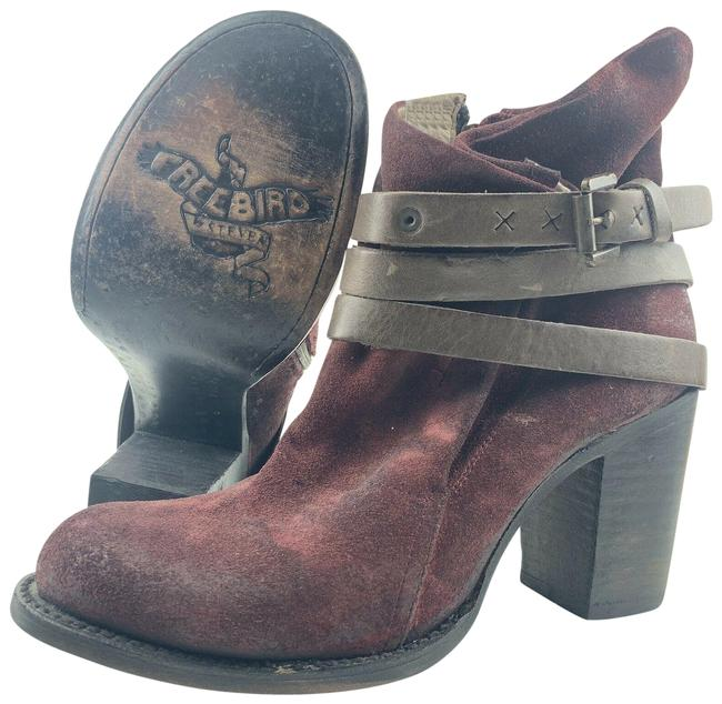 Item - Red Wine Boots/Booties Size US 10 Regular (M, B)