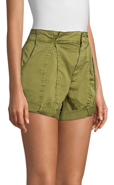 Item - Green Army Xandria Rolled Cargo High Rise Shorts Size 0 (XS, 25)