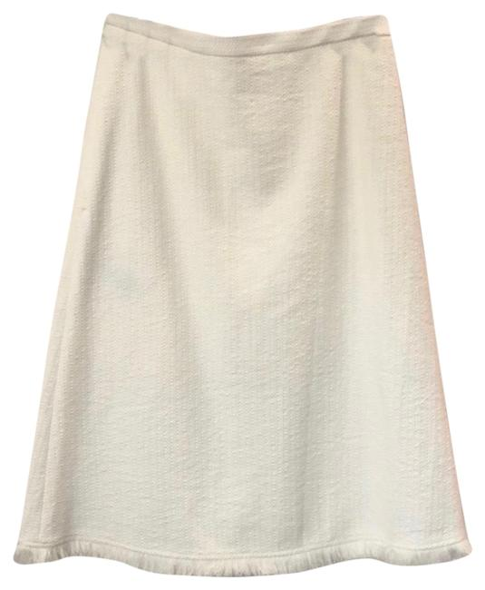 Item - White A-line Skirt Size 6 (S, 28)