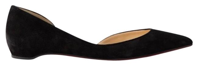 Item - Black Iriza Suede Leather Flats Size EU 37 (Approx. US 7) Regular (M, B)