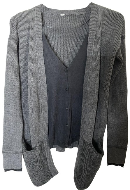 Item - Gray Msrp Cardigan Size 4 (S)