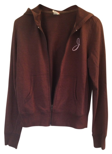 Preload https://item1.tradesy.com/images/brown-j-embroidered-sweatshirthoodie-size-8-m-2796265-0-0.jpg?width=400&height=650