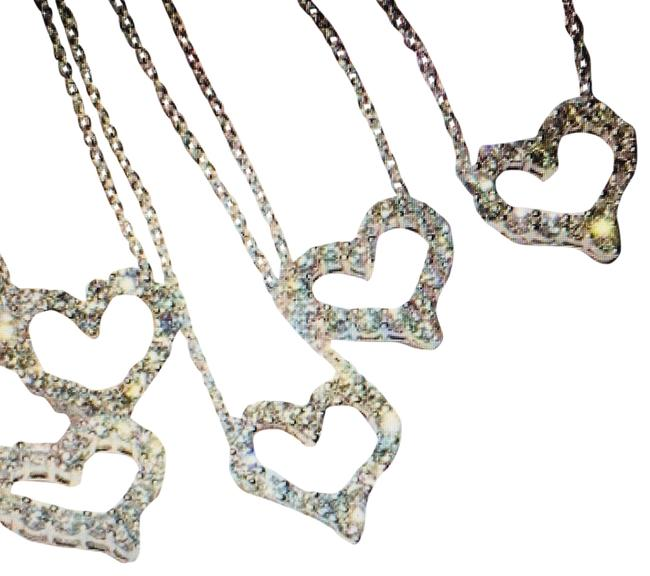 Item - Silver Luxurious Sterling Chain with Crystal Pendant Necklace