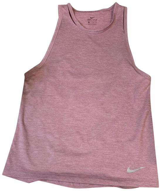 Nike Pink Dry-fit Sleeveless Workout Active Activewear Top Size 0 (XS) Nike Pink Dry-fit Sleeveless Workout Active Activewear Top Size 0 (XS) Image 1