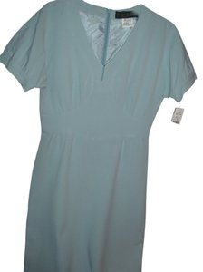 Harve Bernard by Bernard Heitzman Pastel Fitted Tailored Work Dress