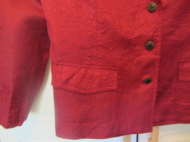 Chico's dark red Jacket