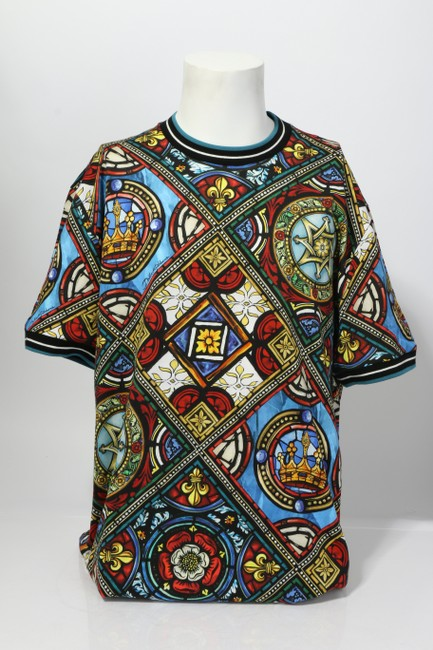 Item - Multi-color Dolce and Gabbana Stained Glass Shirt