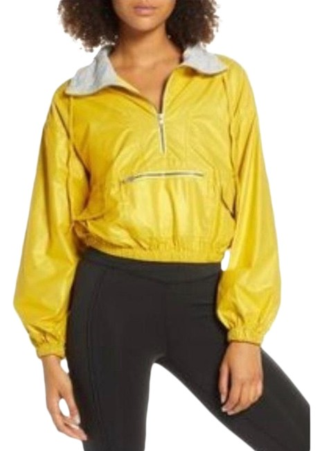 Item - Golden Yellow Moonlight Reflective Gold Jacket Activewear Size 8 (M)