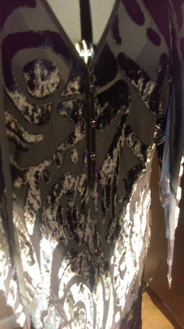 Bergdorf Goodman Sleeveless Evening Velvet Dress