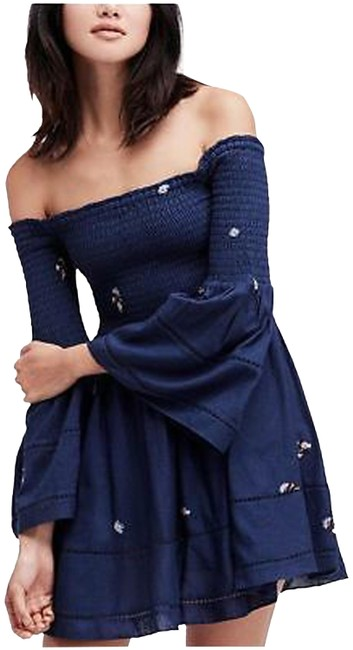 Preload https://img-static.tradesy.com/item/27966326/free-people-blue-xs-counting-daisies-mini-embroidered-off-shoulder-short-casual-dress-size-2-xs-0-1-650-650.jpg