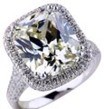 Other Big Zircon Bling Stone S925 Sterling Silver Ring
