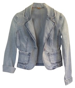 Other Distressed Denim Womens Jean Jacket