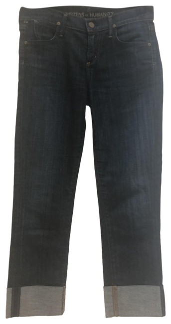 Item - Darker Wash Dark Rinse Straight Leg Jeans Size 0 (XS, 25)