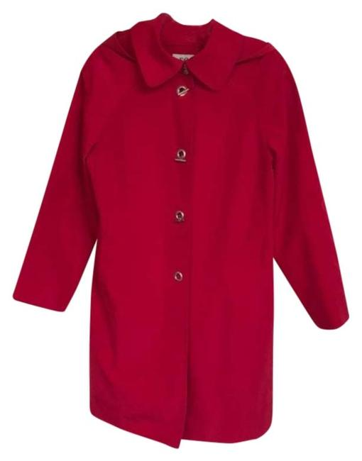 Item - Red By Hooded Raincoat M Coat Size 8 (M)