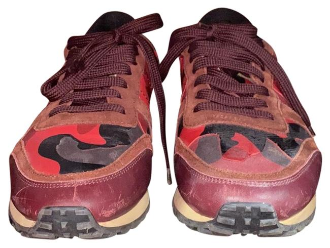 Item - Red and Black Hws00291 Sneakers Size EU 39 (Approx. US 9) Regular (M, B)