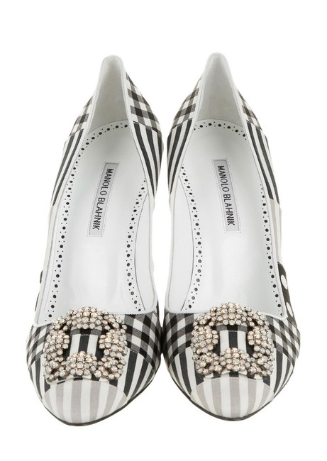 Item - Black and White Hangsini Limited Edition Pumps Size EU 40 (Approx. US 10) Regular (M, B)