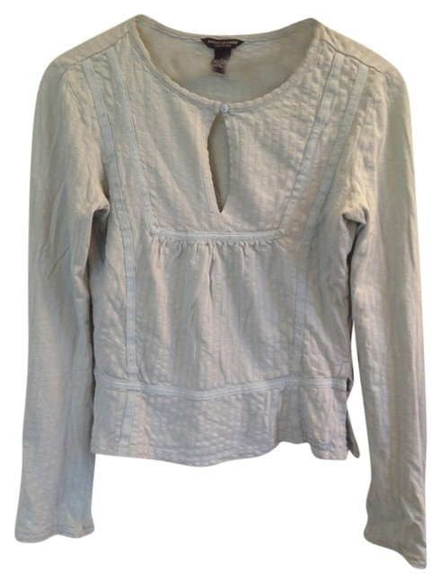 Preload https://item5.tradesy.com/images/american-eagle-outfitters-green-flash-sale-boho-cropped-with-slits-blouse-size-2-xs-2796904-0-0.jpg?width=400&height=650