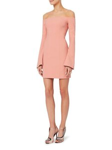 Item - Pink Niara Off The Shoulder Flare Sleeve  Night Out Dress