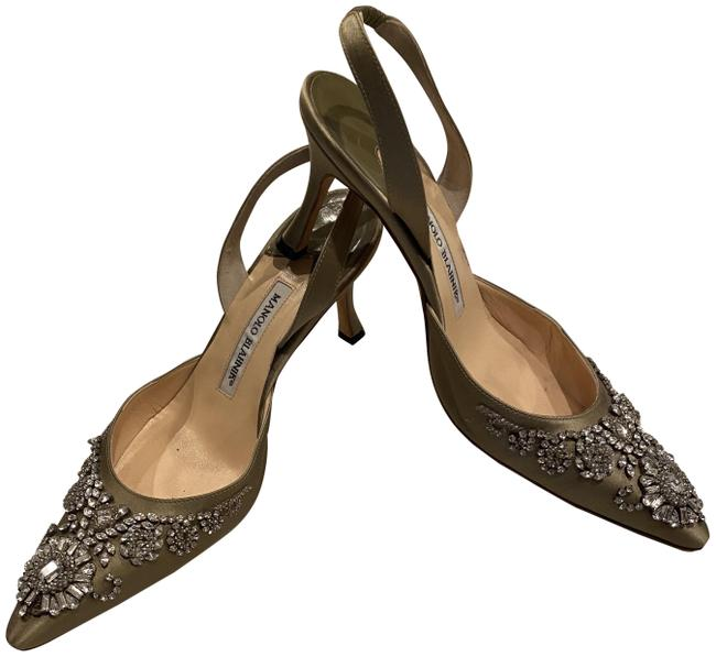 Item - Gold Special Occasion Formal Shoes Size EU 38.5 (Approx. US 8.5) Regular (M, B)