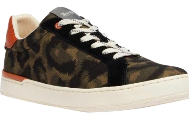 Coach Animal Camo G5110 10011275 Sneakers Size US 9.5 Wide (C, D) Coach Animal Camo G5110 10011275 Sneakers Size US 9.5 Wide (C, D) Image 1