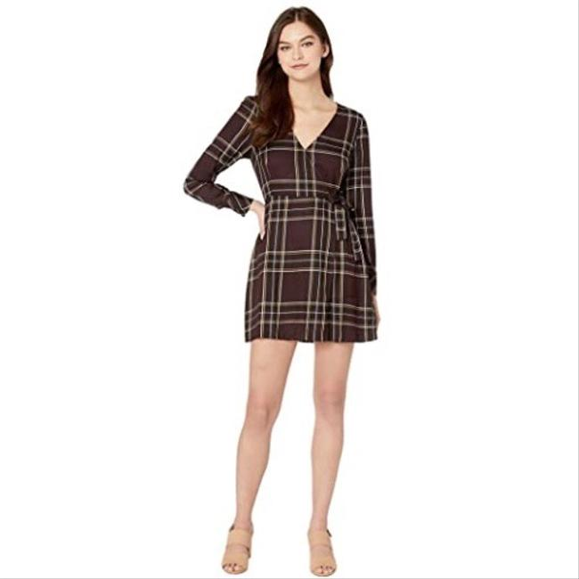 Preload https://img-static.tradesy.com/item/27969811/sanctuary-brown-upbeat-wrap-short-casual-dress-size-6-s-0-0-650-650.jpg