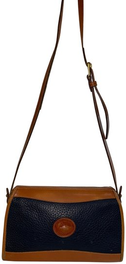 Preload https://img-static.tradesy.com/item/27969857/dooney-and-bourke-coach-blue-and-brown-leather-shoulder-bag-0-1-540-540.jpg
