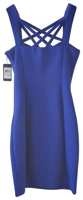 Guess Indigo Gdgmp334 Short Casual Dress Size 4 (S) Guess Indigo Gdgmp334 Short Casual Dress Size 4 (S) Image 1