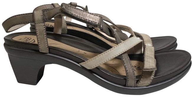 ABEO Neutral Metallic Gloriana Sandals Size US 10 Regular (M, B) ABEO Neutral Metallic Gloriana Sandals Size US 10 Regular (M, B) Image 1