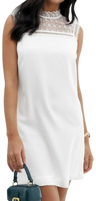 Preload https://img-static.tradesy.com/item/27969952/ted-baker-ivory-wmd-carsey-wh9w-short-cocktail-dress-size-2-xs-0-1-650-650.jpg