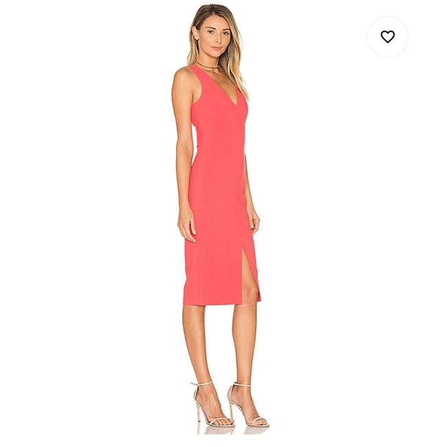 Preload https://img-static.tradesy.com/item/27970046/likely-peach-mid-length-cocktail-dress-size-10-m-0-0-650-650.jpg