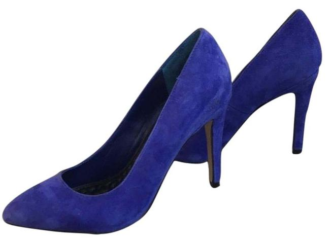 Dolce Vita Blue Royal Suede Heels Pumps Size US 7 Regular (M, B) Dolce Vita Blue Royal Suede Heels Pumps Size US 7 Regular (M, B) Image 1