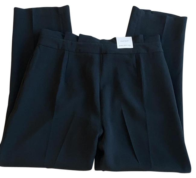 Andrew Marc Black High Leg Pants Size 12 (L, 32, 33) Andrew Marc Black High Leg Pants Size 12 (L, 32, 33) Image 1