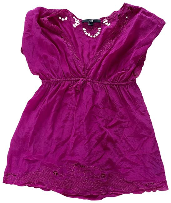 Item - Pink Magenta Small Blouse Size 4 (S)