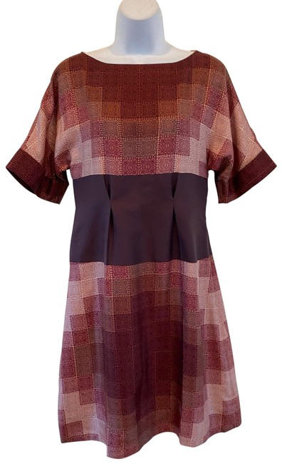 Item - Made In Italy Silk Short Casual Dress Size 4 (S)