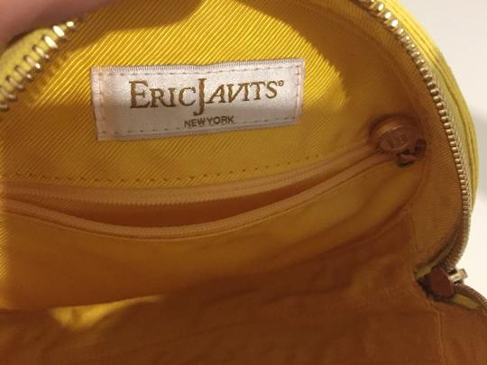 Eric Javits Yellow Clutch